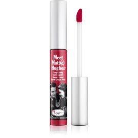 theBalm Meet Matt(e) Hughes dolgoobstojna tekoča šminka odtenek Brilliant 7,4 ml