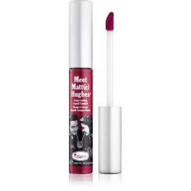 theBalm Meet Matt(e) Hughes długotrwała szminka w płynie odcień Romantic 7,4 ml
