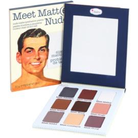 theBalm Meet Matt(e) Nude paleta de sombras   25,5 g