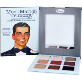 theBalm Meet Matte(e) Trimony paleta očních stínů se zrcátkem  21,6 g