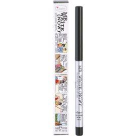 theBalm Mr. Write (Now) svinčnik za oči odtenek Wayne B. Olive/Olive Green 0,28 g