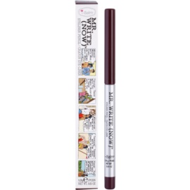 theBalm Mr. Write (Now) tužka na oči odstín Scott B. Bordeaux/Deep Purple 0,28 g