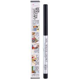 theBalm Mr. Write (Now) tužka na oči odstín Dean B. Onyx/Black 0,28 g