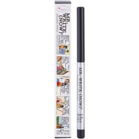 theBalm Mr. Write (Now) tužka na oči odstín Vince B.Charcoal/Dark Grey 0,28 g