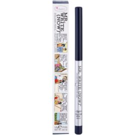theBalm Mr. Write (Now) tužka na oči odstín Raj B. Navy/Navy Blue 0,28 g
