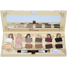 theBalm Nude Tude Eye Shadow Palette With Brush  11,08 g
