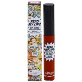 theBalm Read My Lips lesk na pery odtieň WOW! 6,5 ml