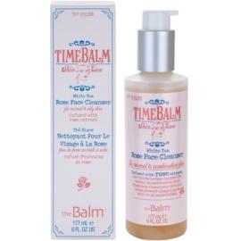 theBalm TimeBalm Skincare Rose Face Cleanser jemná čisticí emulze pro normální až mastnou pleť  177 ml