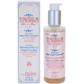 theBalm TimeBalm Skincare Rose Face Cleanser sanfte Reinigungsemulsion für normale bis fettige Haut  177 ml
