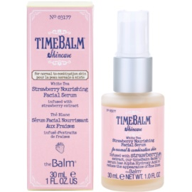 theBalm TimeBalm Skincare Strawberry Nourishing Facial Serum sérum nutritivo  30 ml
