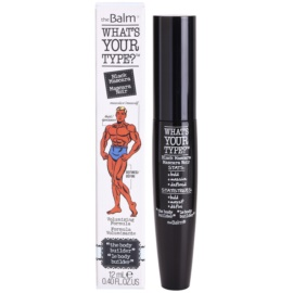theBalm What's Your Type? maskara za volumen odtenek Black 12 ml