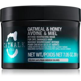 TIGI Catwalk Oatmeal & Honey mascarilla nutritiva intensiva para cabello seco y dañado  200 g