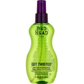 TIGI Bed Head Get Twisted fixáló finish spray töredezés ellen  200 ml