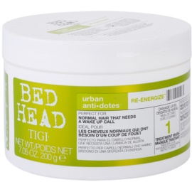 TIGI Bed Head Urban Antidotes Re-energize máscara revitalizadora para cabelo normal  200 g