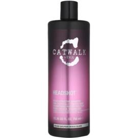 TIGI Catwalk Headshot regenerační šampon pro chemicky ošetřené vlasy  750 ml