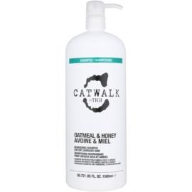 TIGI Catwalk Oatmeal & Honey champô nutritivo para cabelo seco e sensível  1500 ml