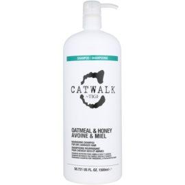 TIGI Catwalk Oatmeal & Honey vyživující šampon pro suché a zcitlivělé vlasy  1500 ml