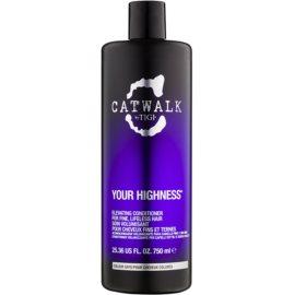 TIGI Catwalk Your Highness kondicionáló dús hatásért  750 ml