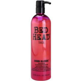 TIGI Bed Head Dumb Blonde acondicionador para cabello químicamente tratado  750 ml