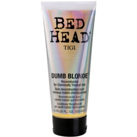 TIGI Bed Head Dumb Blonde acondicionador para cabello químicamente tratado  200 ml