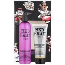 TIGI Bed Head Dumb Blonde set cosmetice II.