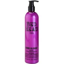 TIGI Bed Head Dumb Blonde Shampoo für chemisch behandeltes Haar  400 ml