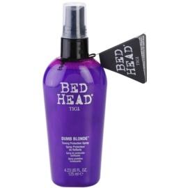 TIGI Bed Head Dumb Blonde ochranný tónovací sprej pro blond vlasy  125 ml