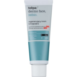 Tołpa Dermo Face Sebio crema regeneradora de noche para pieles grasas  40 ml