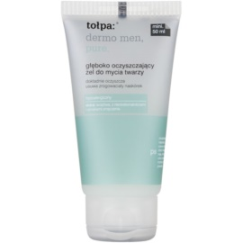 Tołpa Dermo Men hluboce čisticí gel na obličej  50 ml