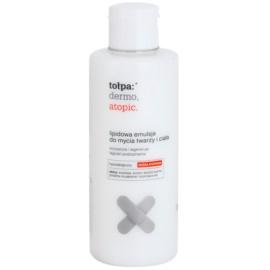 Tołpa Dermo Atopic Reinigungsemulsion mit Lipiden Für Gesicht und Körper  200 ml