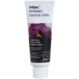 Tołpa Botanic Black Rose нощен регенериращ крем за суха до чувствителна кожа  40 мл.