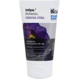 Tołpa Botanic Black Rose nährende und erneuernde Creme für die Hände  75 ml
