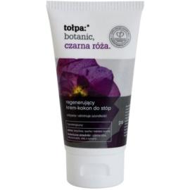 Tołpa Botanic Black Rose Fusscreme mit regenerierender Wirkung  75 ml