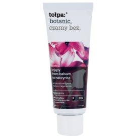 Tołpa Botanic Elderberry нічний заспокоюючий крем для чутливої шкіри схильної до почервонінь  40 мл