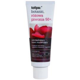 Tołpa Botanic Peony Pink 50+ noční omlazující krém pro zpevnění pleti  40 ml