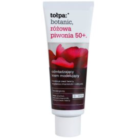 Tołpa Botanic Peony Pink 50+ verjüngende Tagescreme Creme zur Wiederherstellung der Festigkeit der Haut  40 ml