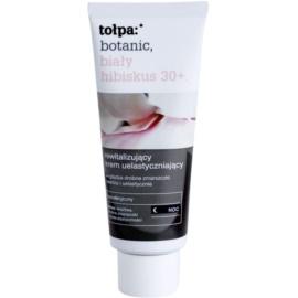 Tołpa Botanic White Hibiscus 30+ rewitalizujący krem na noc przeciw pierwszym oznakom starzenia skóry  40 ml