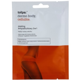 Tołpa Dermo Body Cellulite Bodypeeling gegen Cellulite 3in1  42 g