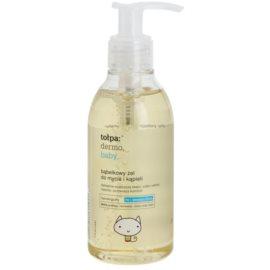 Tołpa Dermo Baby pěnivý gel na mytí a koupání pro děti  195 ml