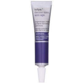 Tołpa Dermo Men 40+ regenerierende Augencreme gegen Falten und dunkle Augenringe  10 ml