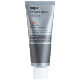 Tołpa Dermo Men Expert SOS-Schutzcreme für das Gesicht SPF 20  40 ml
