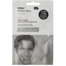 Tołpa Dermo Men Expert SOS regenerační maska proti stárnutí pleti  2 x 6 ml