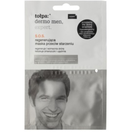 Tołpa Dermo Men Expert SOS maska regenerująca przeciw starzeniu się skóry  2 x 6 ml