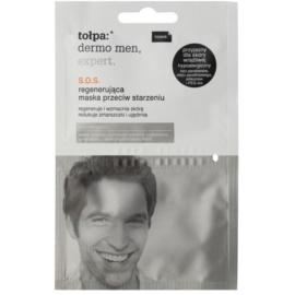 Tołpa Dermo Men Expert regenerierende SOS-Maske gegen Hautalterung  2 x 6 ml