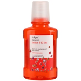 Tołpa Expert Junior 6-12 вода за уста за деца  вкус Red Fruits 250 мл.