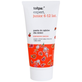Tołpa Expert Junior 6-12 Toothpaste For Kids Flavour Red Fruits 50 ml