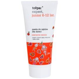 Tołpa Expert Junior 6-12 Zahnpasta für Kinder Geschmack Red Fruits 50 ml