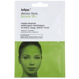 Tołpa Dermo Face Futuris 30+ mascarilla revitalizante con efecto humectante  2 x 6 ml