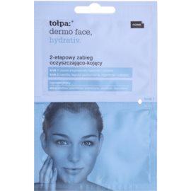Tołpa Dermo Face Hydrativ limpieza y alivio de la piel en dos pasos  2 x 6 ml
