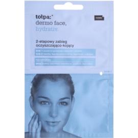 Tołpa Dermo Face Hydrativ Reinigung und Beruhigung der Haut in zwei Schritten  2 x 6 ml